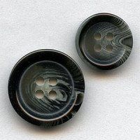 HNZ-23-Basic Grey Suit Button - 2 Sizes, Sold by the Dozen