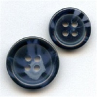 HNZ-95-Basic Navy Suit Button - 2 Sizes, Sold by the Dozen