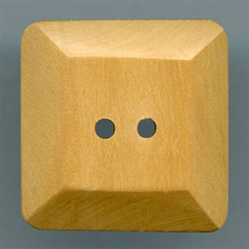 JHB-51071 Square Wood Button