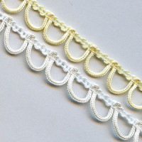 LP-003 - White or Ivory Continuous Looping , Sold by the Yard or 36 Yard Roll