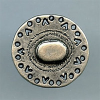 M-121-Southwestern Metal Button
