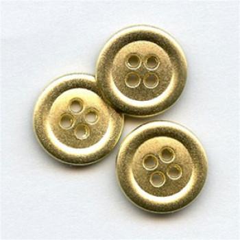 M-1275 - Matte Gold Button - 2 Sizes