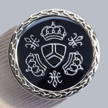 """M-1879 Crest Button - 13/16"""" Only"""