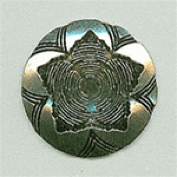 M-195-Concho Style Metal Button