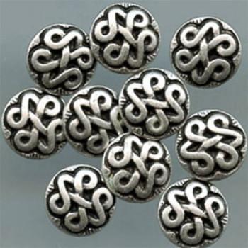 M-2035-Celtic Knot Metal Shirt Button