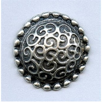 M-5094 Metal Fashion Button, 4 Sizes