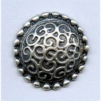 M-5094 Metal Fashion Button, 4 Sizes
