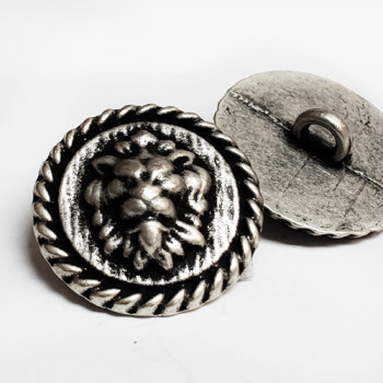 M-7911A Lion's Head Metal Button, 3 Sizes