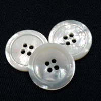 "MPA-117D - 3/4"", Mother of Pearl Shell Button, Sold by the Dozen"