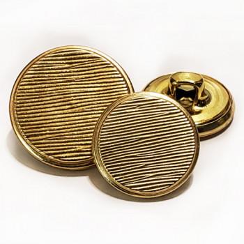 MTL-06-Gold Blazer Button - 2 Sizes