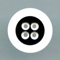 NV-0030 Black and White Fashion Button