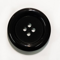 "NV-1130B-Black 1 3/4"" Big Fashion Button"