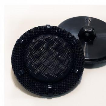 "NV-1343 Navy Fashion Button, 1-1/8"""