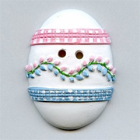 NVC-21 Novelty Ceramic Egg Button