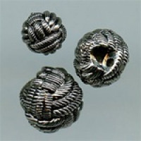 NVP-300-Antique Silver Fashion Button, 3 Sizes