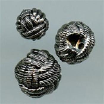 NVP-300-Antique Silver Fashion Button, 3 Sizes