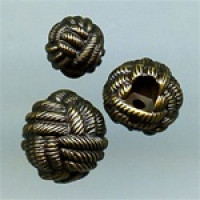 NVP-305-Antique Brass Fashion Button, 3 Sizes