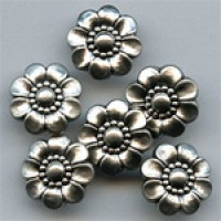 NVP-492-Matte Silver Fashion Button