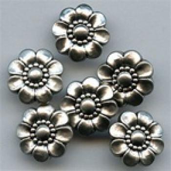 NVP-492-Matte Silver Fashion Button