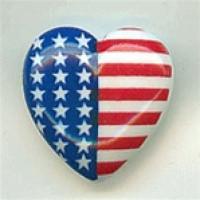 OCF-104-American Flag Button