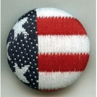 OCF-105-American Flag Button
