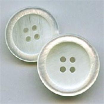 P-0364-White Pearl Fashion Button, 2 Sizes