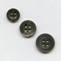 TR-200 Smoke Trocas Shell Button - 3 Sizes Priced per Dozen