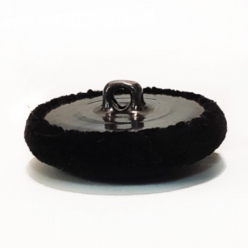 VE-1037-Black Velvet Button