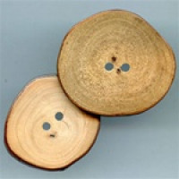 WD-0480 Wood Slice Button
