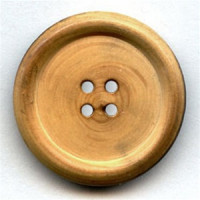 WD-1062 Burnt Wood Button