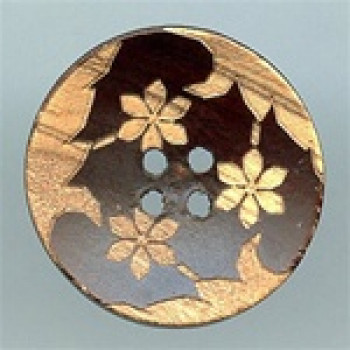 WD-512-Laser-Cut Wood Button