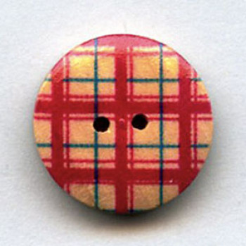 WDP-0048 Hand Painted Wood Button
