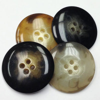 H-5125-Horn Look Button - 4 colors