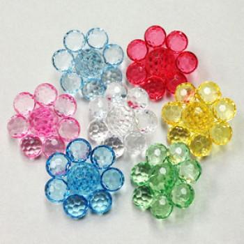 CL-1812 - Acrylic Button - 7 Colors
