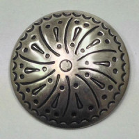 DM-90 Concho Style Metal Button, 37mm