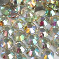 PFR-101 Flatback Rhinestones - AB Crystal