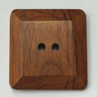 JHB-51070 Square Wood Button