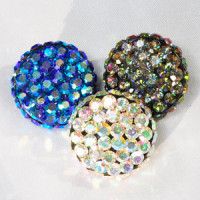 9244T AB Rhinestone Button (7 Colors)