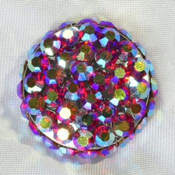 9244 AB Rhinestone Button (6 Colors)