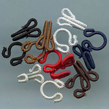 FH-100 Fabric Hook and Eye - (Black and Red Only)