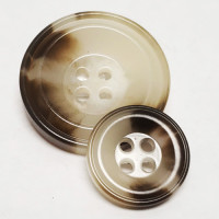 HN-322 - Brown and Natural Button - 4 Sizes