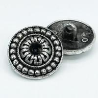 """M-3166 Antique Silver  7/8"""""""