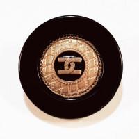 """MP1713  1-1/4""""  Gold CC Button and Black  Epoxy"""
