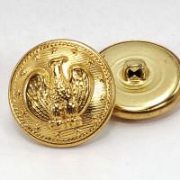 "MTL-07  Blazer  Eagle Button - Gold 7/8"""