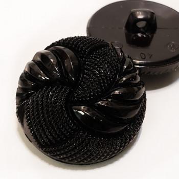 NV-1322-Black Fashion Button