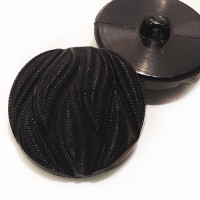 NV-1855 - Black Fashion Button, 3 Sizes