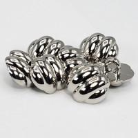 """NVP-278  Silver Fashion Button, 13/16"""""""