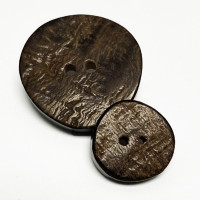 RH-72 Real Horn Button - 2 Sizes