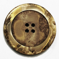 1187-Tan Marbled Button, 5 Sizes