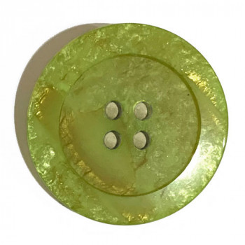 1187-Spring Green Marbled Button, 3 Sizes